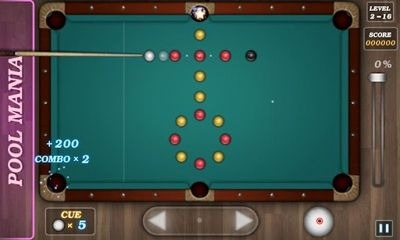Pool Mania Android Game Image 1