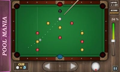 Pool Mania Android Game Image 2