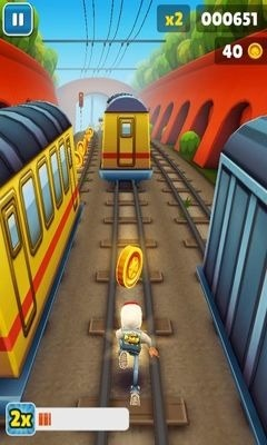 Subway Surfers Android Game Image 2