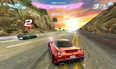 Asphalt 6 Adrenaline HD Android Game Image 2