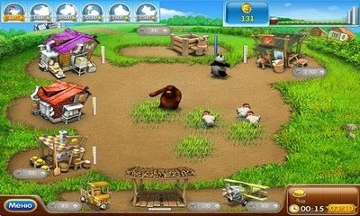 Farm Frenzy 2 Android Game Image 1