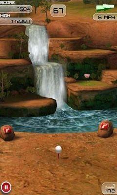 Flick Golf Extreme Android Game Image 2