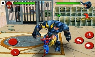 Spider-Man Total Mayhem HD Android Game Image 1
