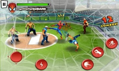 Spider-Man Total Mayhem HD Android Game Image 2