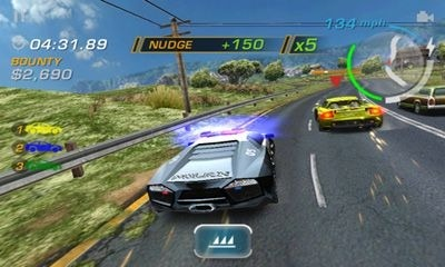 Need for Speed Hot Pursuit Android Game Image 2