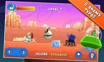 Bert On Mars Android Game Image 1