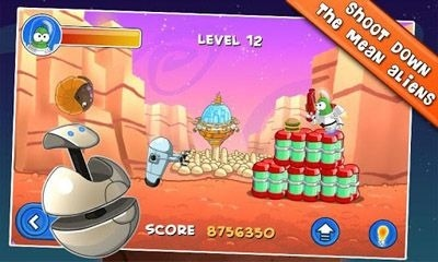 Bert On Mars Android Game Image 2