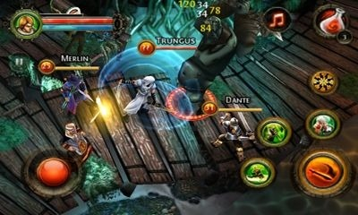 Dungeon Hunter 2 Android Game Image 1