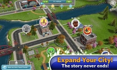 The Sims FreePlay Android Game Image 1