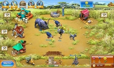 Farm Frenzy 3 Android Game Image 1