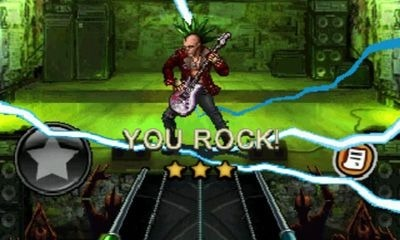 Guitar Hero: Warriors of Rock Android Game Image 1