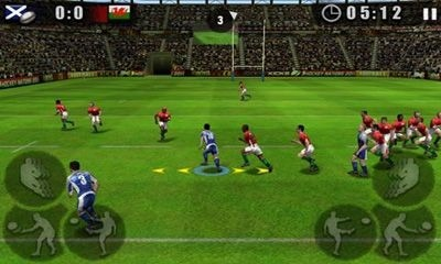Rugby Nations 2011 Android Game Image 1