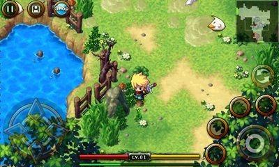 ZENONIA 4 Android Game Image 1