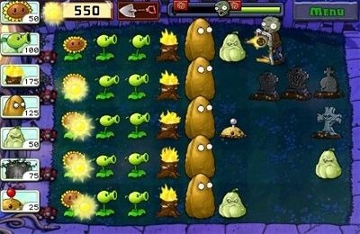 Plants vs. Zombies iOS Game Image 1