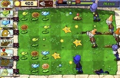 Plants vs. Zombies iOS Game Image 2