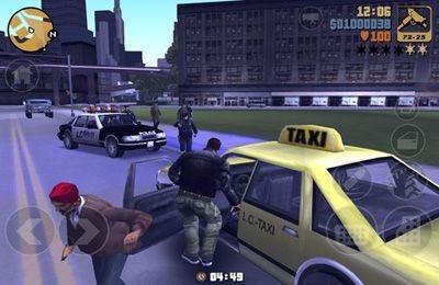Grand Theft Auto 3 iOS Game Image 1