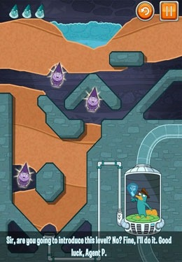 Where's My Perry? iOS Game Image 2