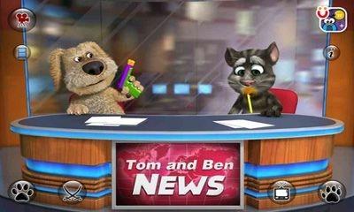Talking Tom & Ben News Android Game Image 1
