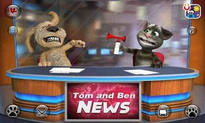 Talking Tom & Ben News Android Game Image 2