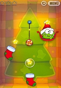 Cut the Rope Holiday Gift iOS Game Image 1