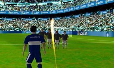 Iniesta VS. Casillas Android Game Image 1