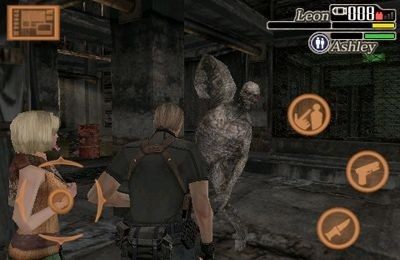 Resident Evil 4 iOS Game Image 2