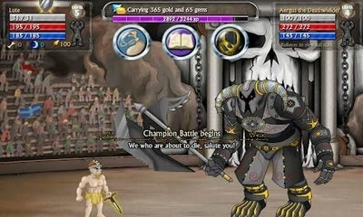 Swords and Sandals 5 Android Game Image 1