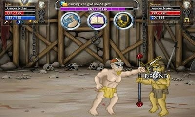 Swords and Sandals 5 Android Game Image 2