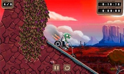 Zombie Rider iOS Game Image 1