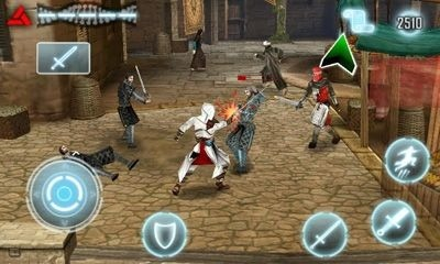Assassin's Creed Android Mobile Phone Game Image 1