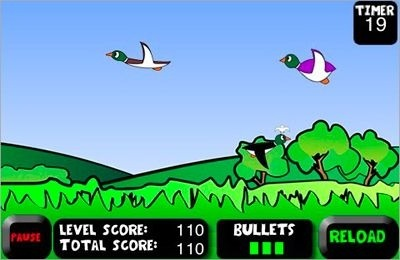 Duck Hunting iOS Game Image 1