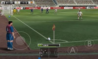 PES 2012 Pro Evolution Soccer Android Game Image 1
