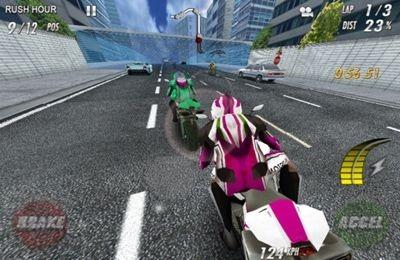 Streeetbike. Full blast iOS Game Image 1