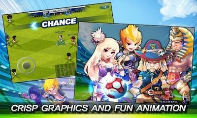 Soccer Superstars 2012 Android Game Image 1