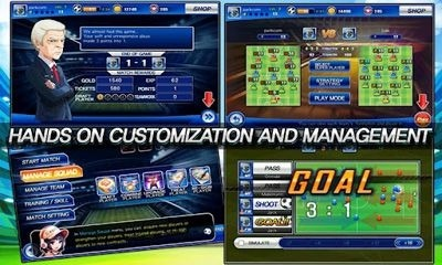 Soccer Superstars 2012 Android Game Image 2