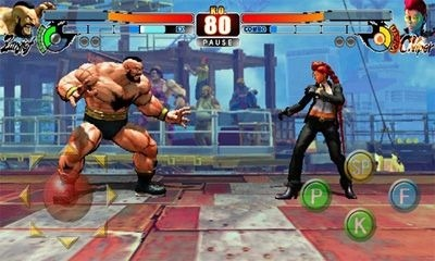 Street Fighter IV HD Android Game Image 2