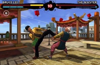 Bruce Lee Dragon Warrior iOS Game Image 1