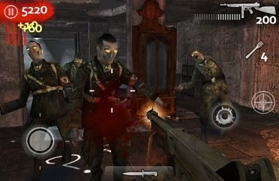 Call of Duty World at War Zombies II iOS Game Image 1