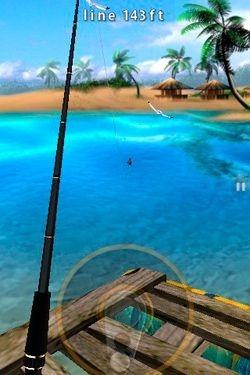 Flick Fishing iOS Game Image 1