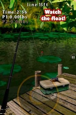 Flick Fishing iOS Game Image 2
