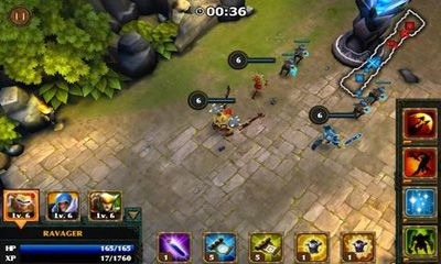 Legendary Heroes Android Game Image 1