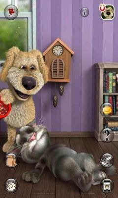 Talking Tom Cat 2 Android Mobile Phone Game Image 1