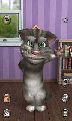 Talking Tom Cat 2 Android Mobile Phone Game Image 2