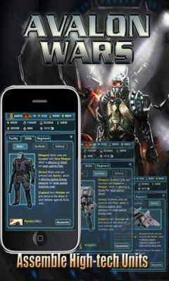 Avalon Wars Android Game Image 2