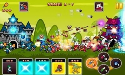 Naked King! Android Game Image 1