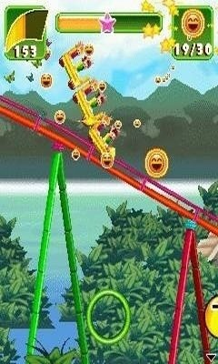 Rollercoaster Revolution 99 Tracks Android Game Image 1