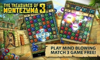 The Treasures of Montezuma 3 Android Game Image 1