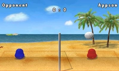 Blobby Volleyball Android Game Image 1
