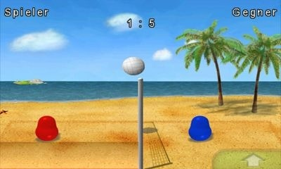 Blobby Volleyball Android Game Image 2