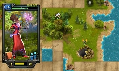 Quests & Sorsery - Skyfall Android Game Image 2